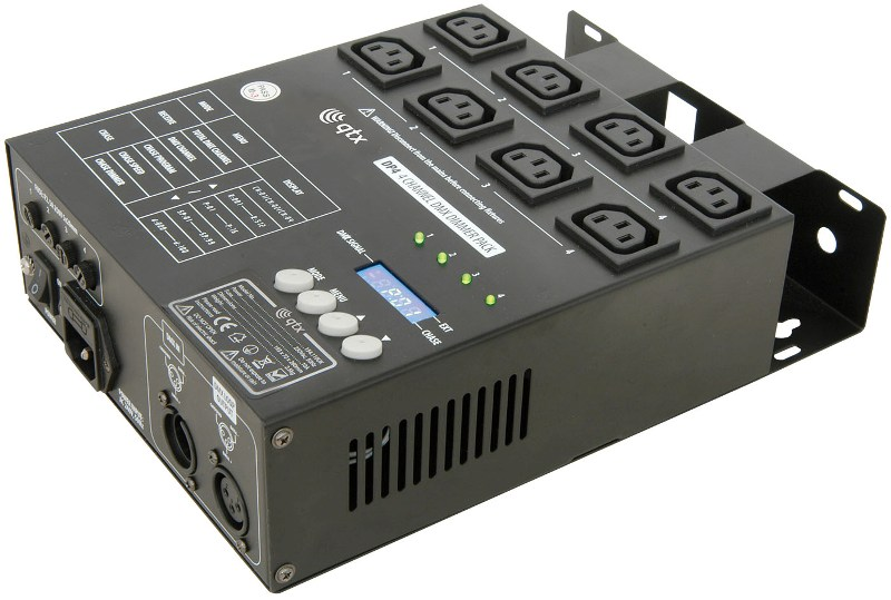 DP4 4-Channel DMX Light Controller (with Dimmer) stand mounting